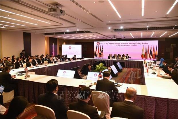 AMM-52 : Le communique conjoint affirme l'importance du maintien de la paix en Mer Orientale hinh anh 1