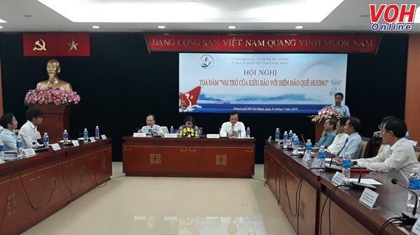 Le role des Viet kieu pour la mer et les iles du pays au menu d'un colloque a Ho Chi Minh-Ville hinh anh 1