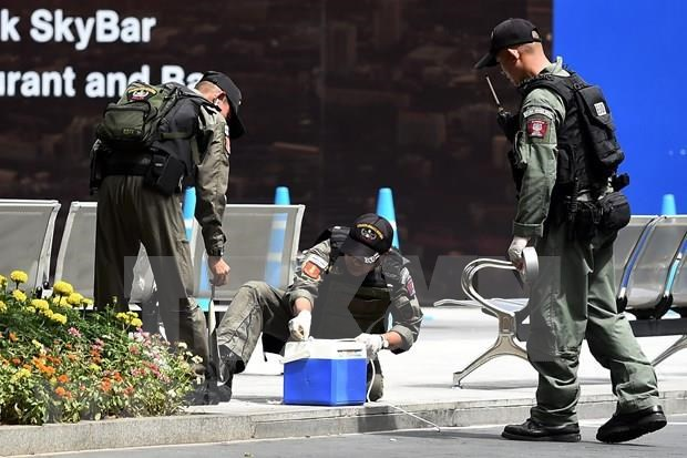 Des attentats a la bombe a Bangkok font au moins trois blesses hinh anh 1