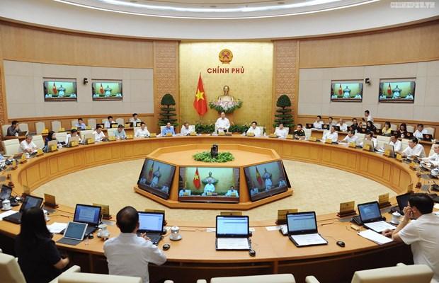 Gouvernement : reunion thematique sur l'elaboration juridique hinh anh 1