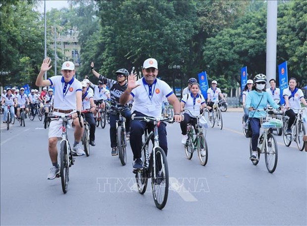 La Journee de la famille de l'ASEAN 2019 a Hanoi hinh anh 1