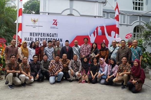 La Fete nationale de l'Indonesie celebree a Hanoi hinh anh 1