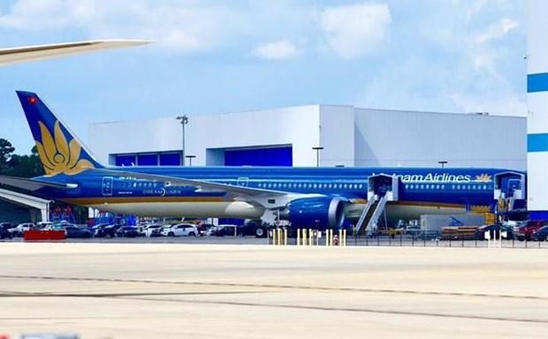 Vietnam Airlines met en service son premier B787-10 Dreamliner hinh anh 1