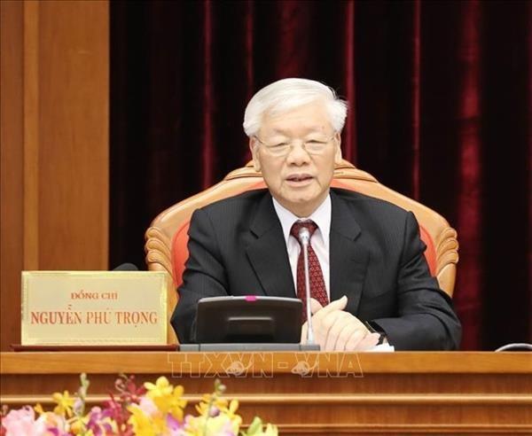 Nguyen Phu Trong adresse une lettre de felicitations au president de l'AIPA 40 hinh anh 1