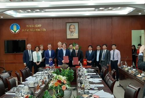 Le Vietnam et l'Australie promeuvent la commercialisation des produits agricoles hinh anh 1