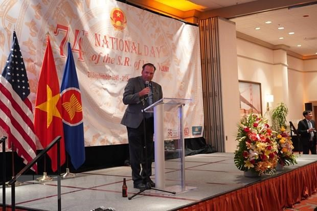 La Fete nationale du Vietnam celebree a San Francisco hinh anh 1
