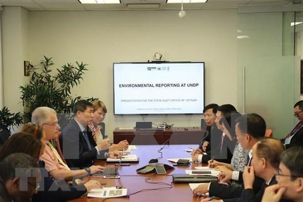 L'Audit d'Etat du Vietnam, la BM et le PNUD renforcent leur cooperation hinh anh 1