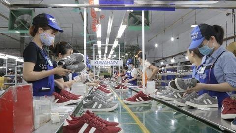 Chaussures et sandales: les exportations nationales depassent les 11 milliards de dollars hinh anh 1