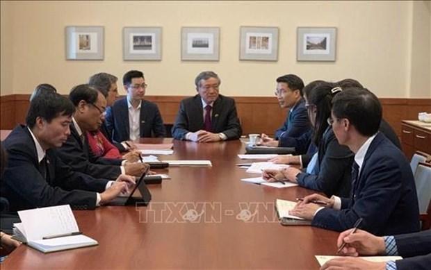 Le Vietnam veut renforcer son partenariat judiciaire avec les Etats-Unis hinh anh 1
