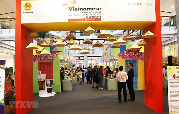 La Semaine des marchandises vietnamiennes en Thailande hinh anh 1