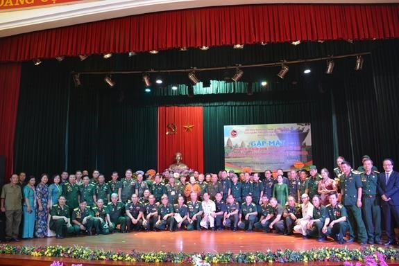 Rencontre entre d'anciens soldats volontaires du Front 479 a Hanoi hinh anh 1