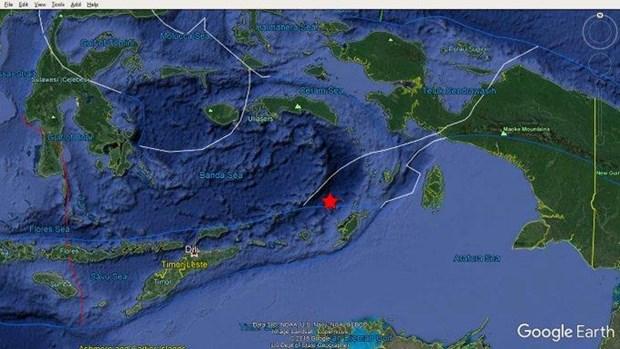 Un seisme de magnitude 6,4 secoue l'est de l'Indonesie hinh anh 1