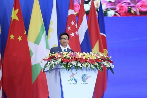 Le vice-PM Vu Duc Dam a l'ouverture d'evenements ASEAN-Chine a Nanning hinh anh 1
