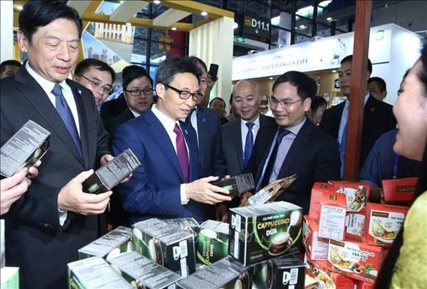 Le vice-PM Vu Duc Dam a l'ouverture d'evenements ASEAN-Chine a Nanning hinh anh 2