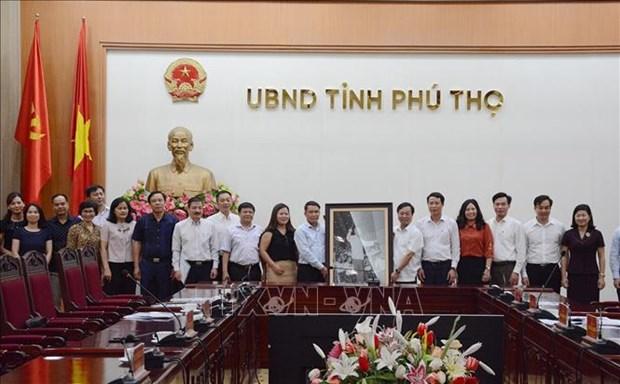 Cooperation entre l'Agence vietnamienne d'Information et Phu Tho dans la communication hinh anh 1