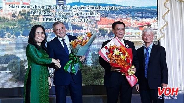 Cultiver l'amitie populaire entre Ho Chi Minh-Ville et la Slovaquie hinh anh 1