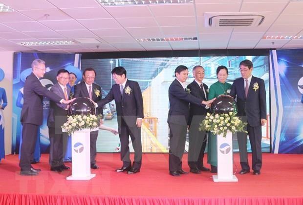 Inauguration d'une usine du groupe japonais Oji a Ha Nam hinh anh 1
