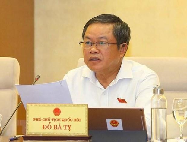 Le vice-president de l'Assemblee nationale Do Ba Ty en visite de travail en Espagne hinh anh 1