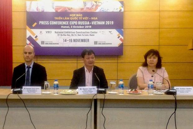 La 3e exposition internationale Vietnam-Russie vers la mi-novembre a Hanoi hinh anh 1