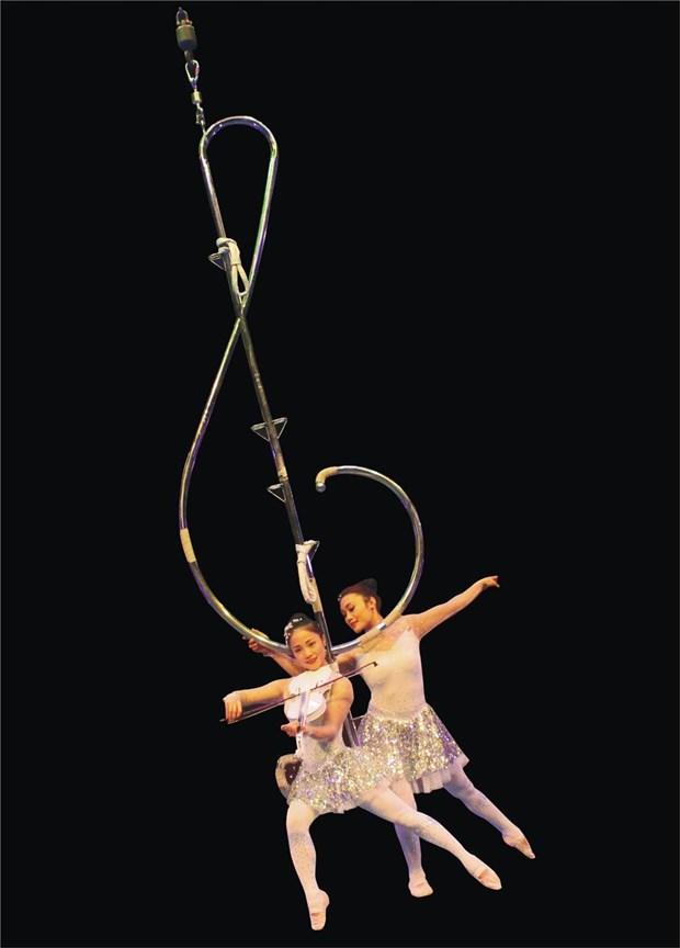 Le Festival international du cirque en met plein les mirettes hinh anh 1
