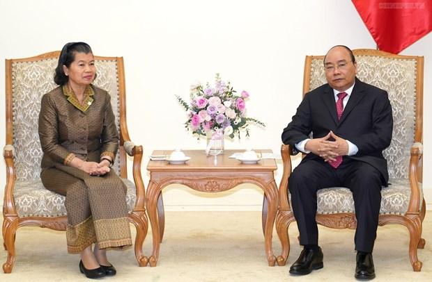 Le Premier ministre salue la cooperation entre les Inspections du Vietnam et du Cambodge hinh anh 1