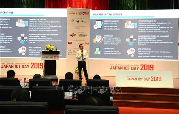 La Journee japonaise des technologies d'information et de communication 2019 a Da Nang hinh anh 1