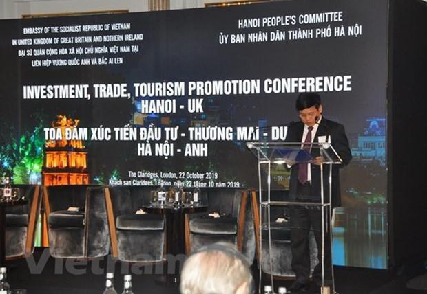 Hanoi promeut l'investissement, le commerce et le tourisme a Londres hinh anh 1