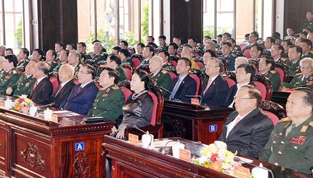 Journee des soldats volontaires et experts vietnamiens au Laos : solidarite solide entre les 2 pays hinh anh 1