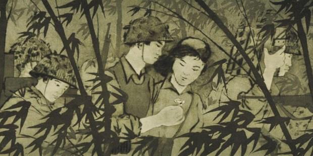Une exposition artistique sur les soldats-artistes vietnamiens a Singapour hinh anh 1