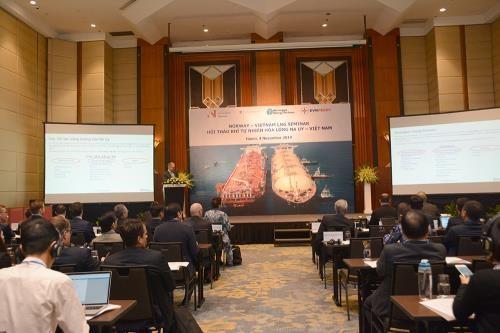 Des entreprises norvegiennes cherchent des partenaires pour developper du LNG au Vietnam hinh anh 1