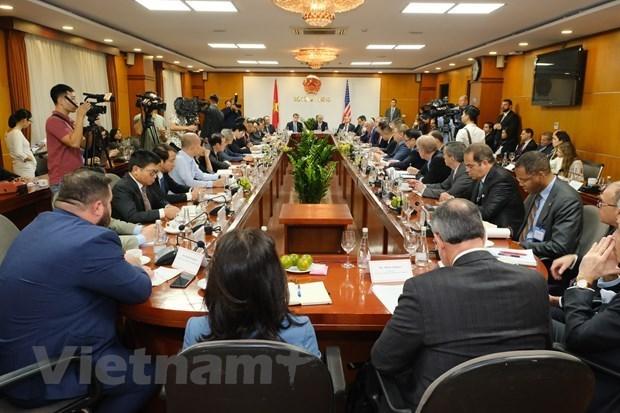 Vietnam et Etats-Unis developpent leurs echanges et leur cooperation d'investissement hinh anh 1