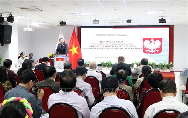 Ho Chi Minh-Ville celebre la Fete de l'independance de la Pologne hinh anh 1