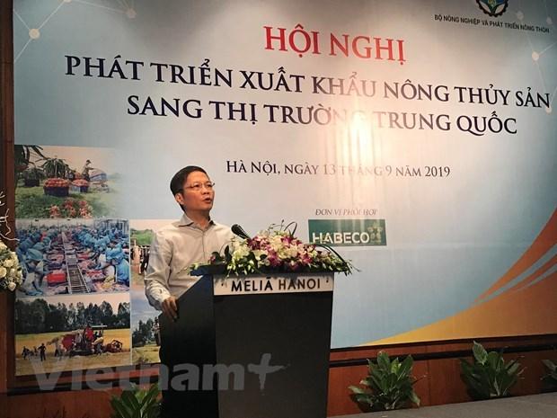 Promouvoir les exportations de produits agricoles et aquatiques vers la Chine hinh anh 1