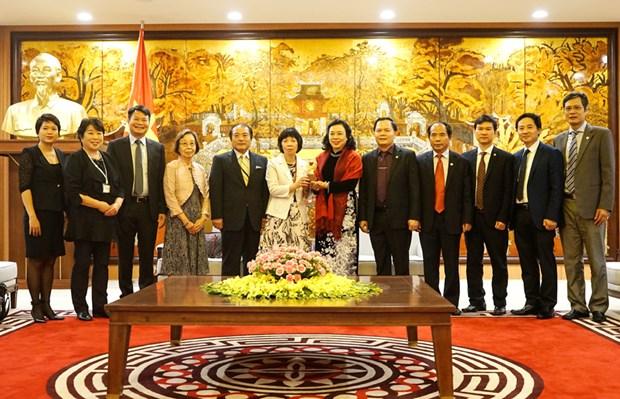 Hanoi elargit sa cooperation avec la prefecture japonaise d'Ibaraki hinh anh 1