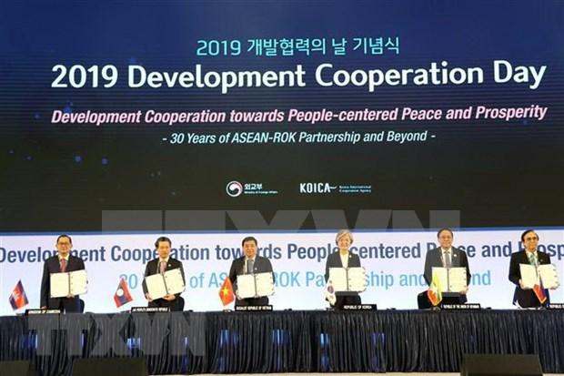 Sommet ASEAN-Republique de Coree : creation d'un conseil consultatif sur les villes intelligentes hinh anh 1