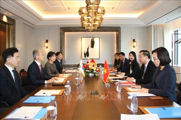 Vietnam et Republique de Coree signent un accord de co-financement de projets d'etudes hinh anh 1