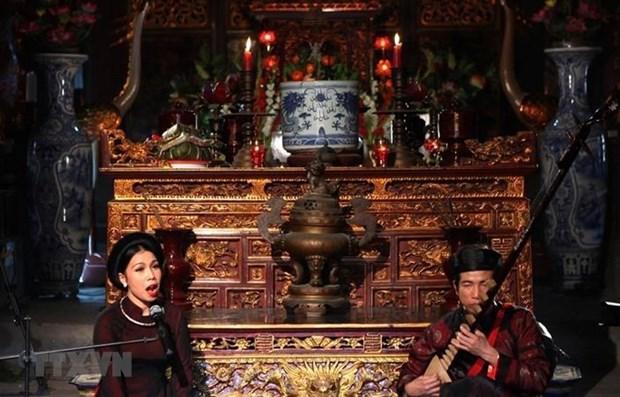 Efforts de Bac Giang pour donner un nouvel elan au ca tru hinh anh 1