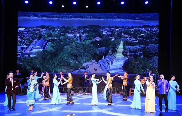 L'ouverture de la Semaine de la culture vietnamienne au Laos hinh anh 1