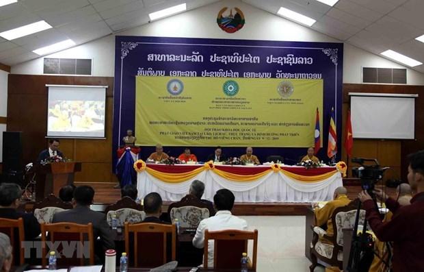 Un seminaire scientifique international sur le bouddhisme vietnamien au Laos hinh anh 1
