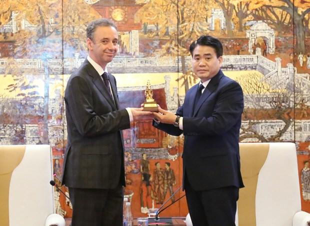 Promouvoir la cooperation entre Hanoi et des localites irlandaises hinh anh 1