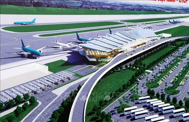 Mise en chantier de la gare T2 de l'aeroport international de Phu Bai hinh anh 1