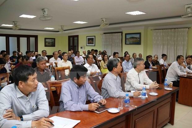 Les Vietnamiens au Laos edifient une communautaire solidaire hinh anh 1