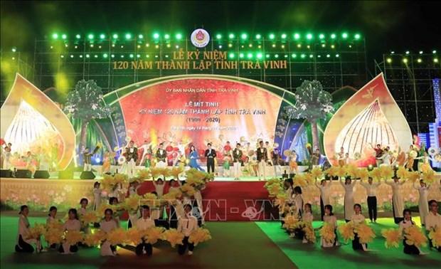 Le Premier ministre a la celebration des 120 ans de la naissance de la province de Tra Vinh hinh anh 1
