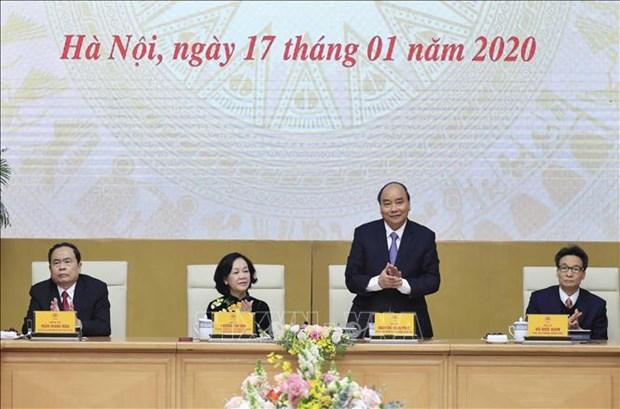 Le PM rencontre des representants d'organisations socio-politiques et populaires hinh anh 1