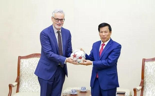 Vietnam-Allemagne : bons resultats de la cooperation culturelle, sportive et touristique hinh anh 1