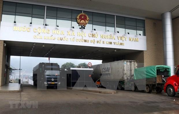 COVID-19 : pas d'activites d'import-export supplementaires aux portes frontalieres hinh anh 1