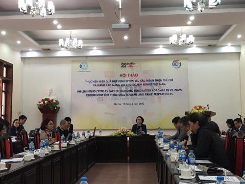Seminaire sur l'application efficace du CPTPP a Hanoi hinh anh 1