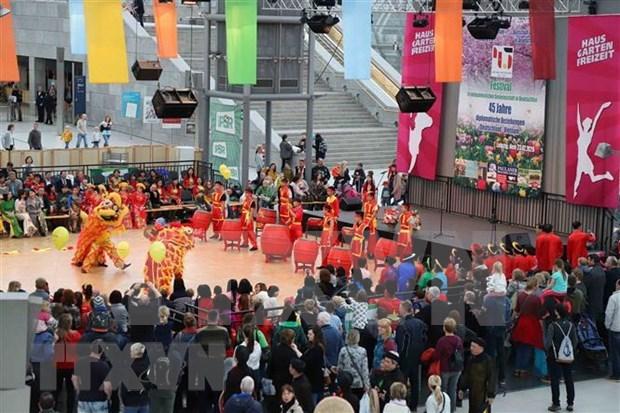 Un festival marquant les 45 ans des relations diplomatiques Vietnam-Allemagne hinh anh 1
