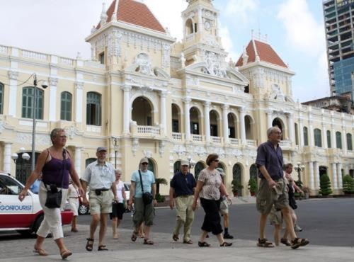 La croissance la plus faible du nombre des touristes etrangers en quatre ans hinh anh 1