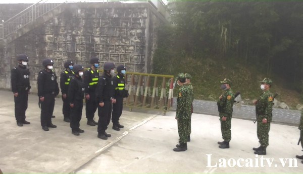 Lao Cai et Yunnan (Chine) effectuent des patrouilles communes hinh anh 1